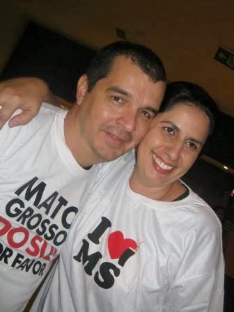 Diretor Fabio Flecha e Produtora Tania Render Brasil do Filme DO SUL, MATO GROSSO DO SUL