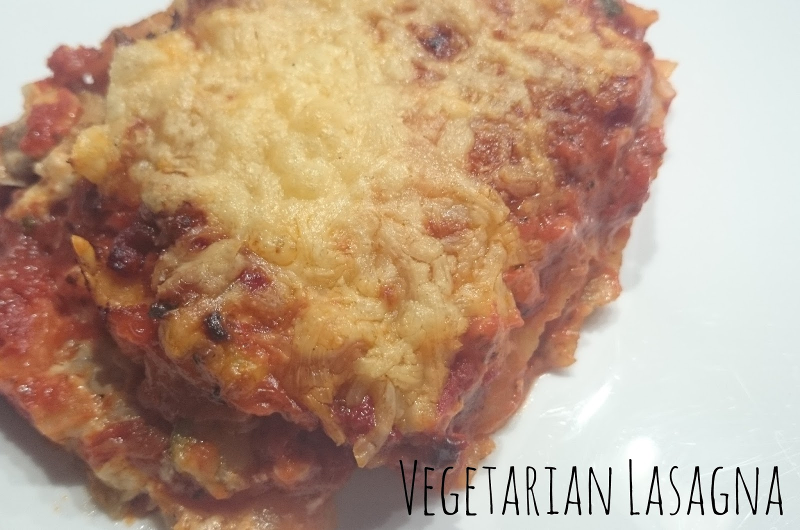 Recipe Vegetarian Lasagna