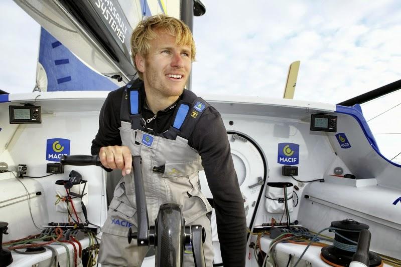 """François Gabart : """"Je suis passionné par les bateaux, l'objet en lui-même me fait rêver"""""""