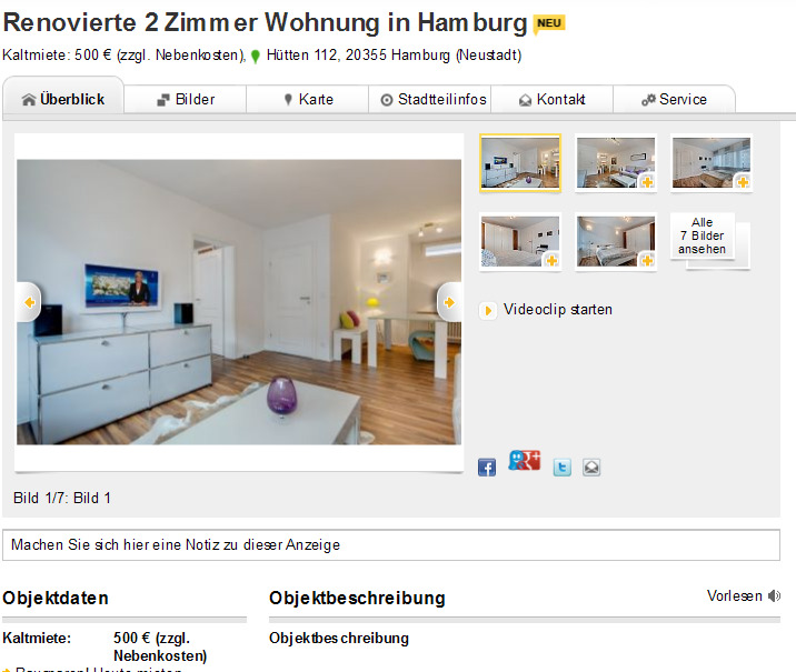 2 zimmer wohnung kaiserstra e 37 44135 dortmund. Black Bedroom Furniture Sets. Home Design Ideas
