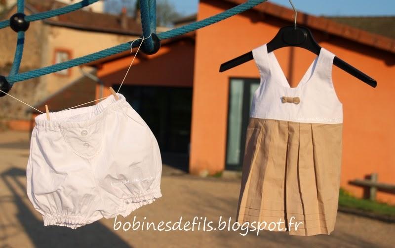 Little miss sunday d'E.+ bloomer IPBB/ bobinesdefils.blogspot.fr