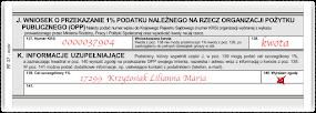 1% dla Liliannki