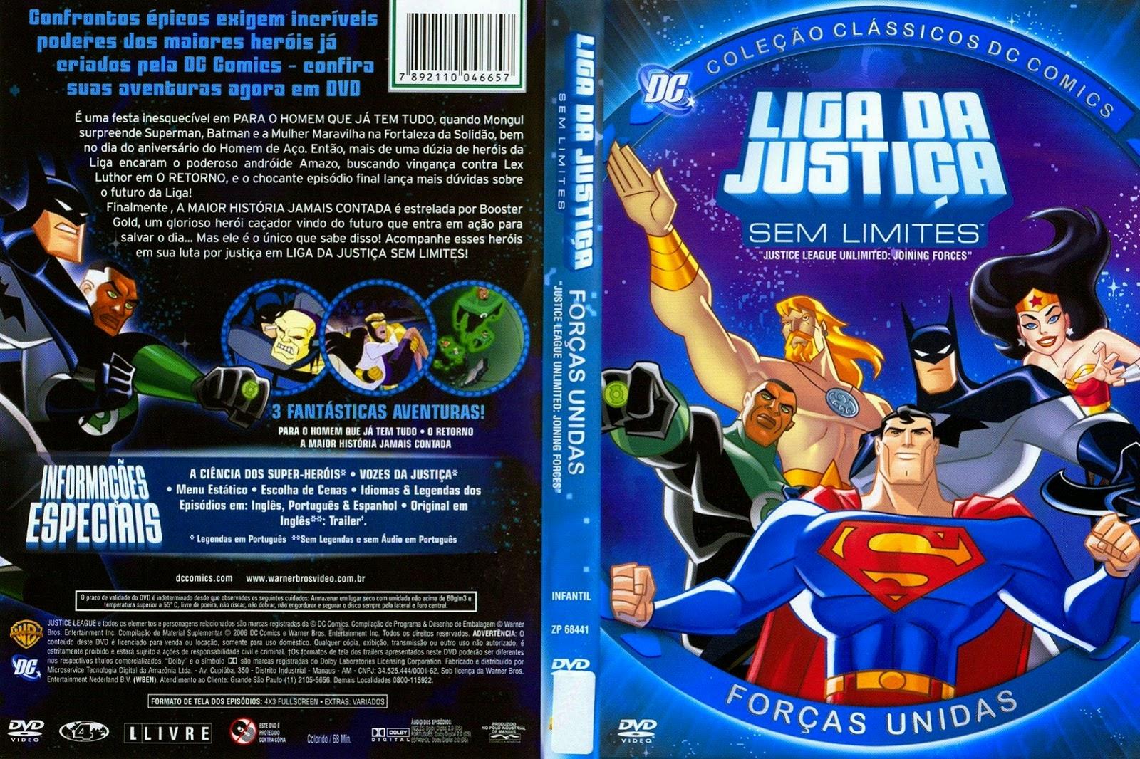 Liga da Justiça Sem Limites Forças Unidas