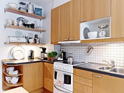 Decotips 4 tips para decorar cocinas peque as decoraci n for Ideas para amueblar una casa pequena