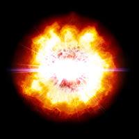 A big blast in space