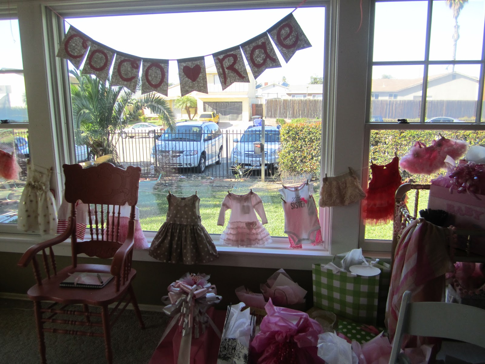 Wool Crazy A Beautiful Baby Shower