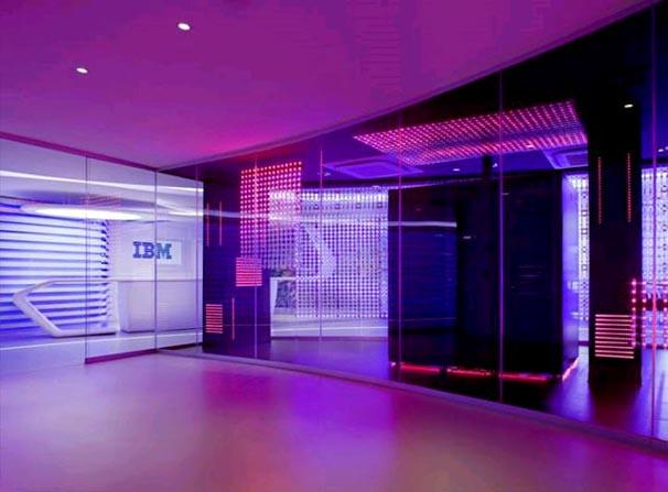 Modern Office Interior Lighting Design