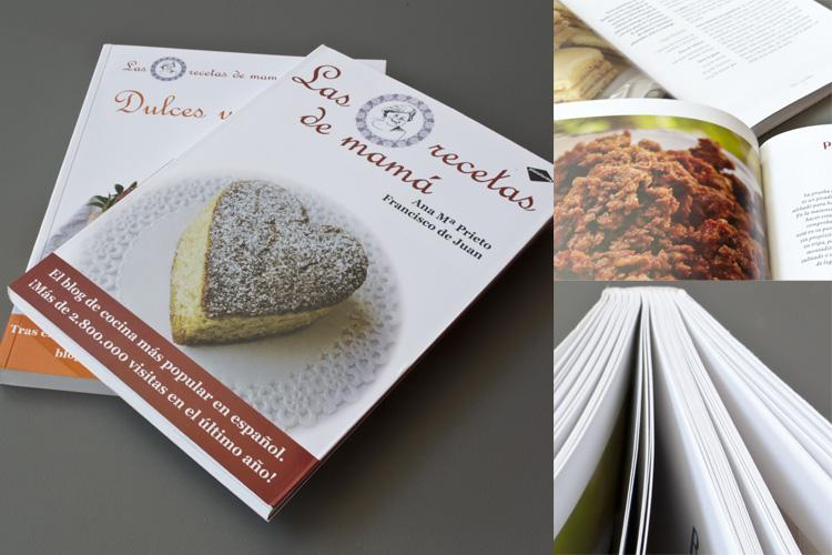 collage Las recetas de Mamá y Dulces y Postres de Las recetas de Mamá [Los libros del gato]