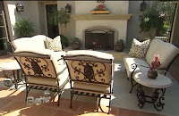 Patio Decorating - Pick a Focal Point