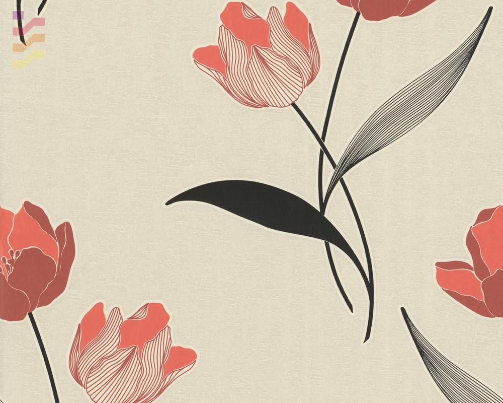 tapeta w tulipany