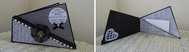 diy paper card holder