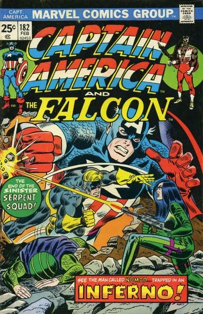 Captain America & the Falcon #182
