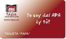 Tarjeta FAPA