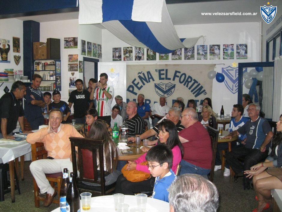La Peña El Fortin es la primer peña y la mas antigua de Velez Sarsfield