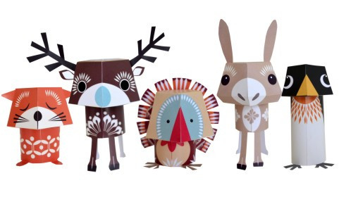 Festive Friends for sale at Mrs Fox's