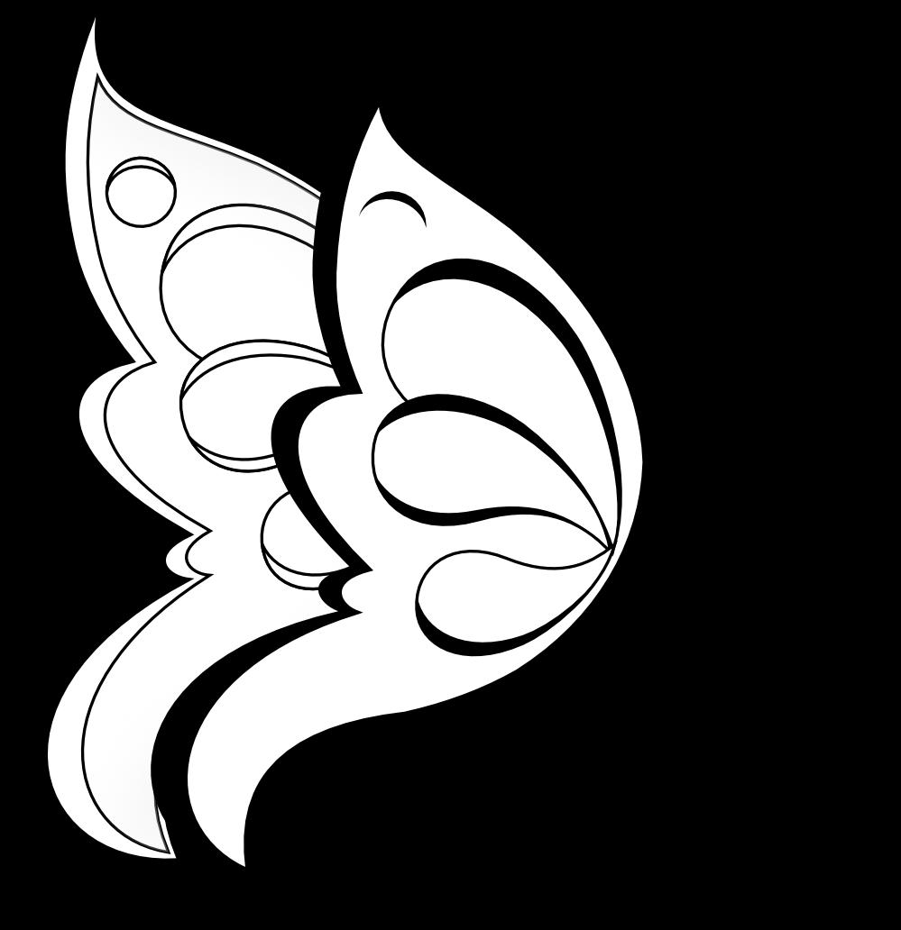 Dibujos Para Calcar De Mariposas Imagui