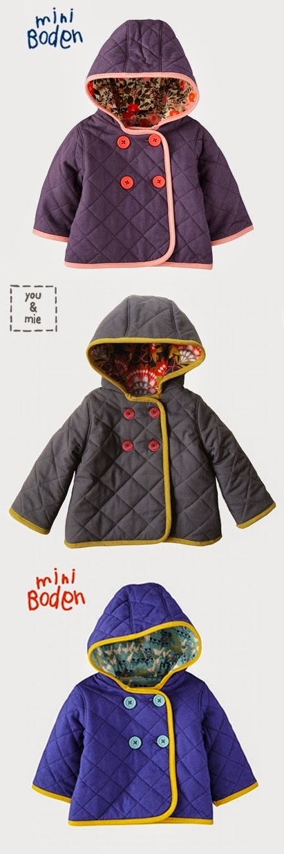 Sewing pattern for Hooded coats