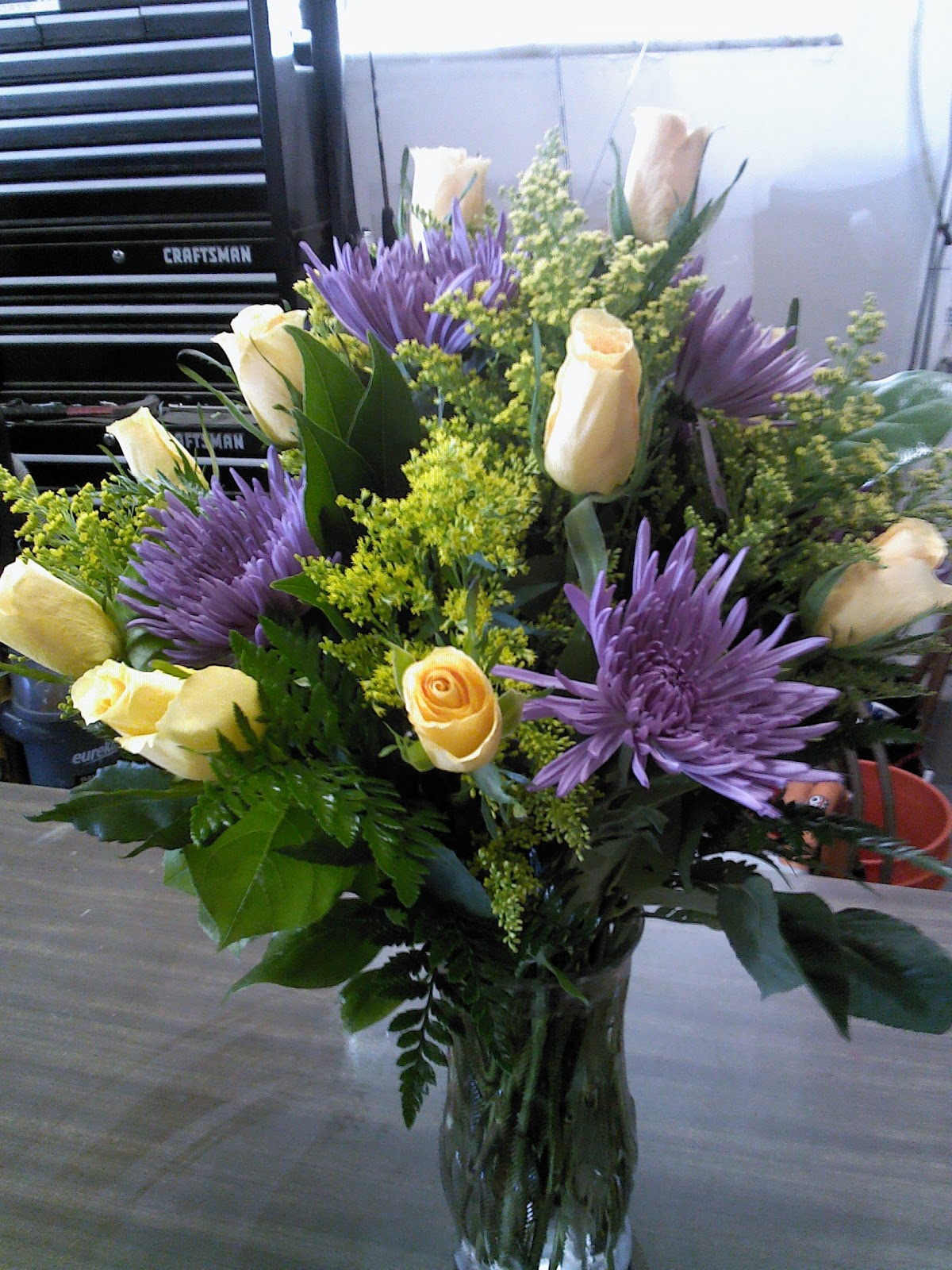 Emmie s Hidden Floral Funeral Arrangement