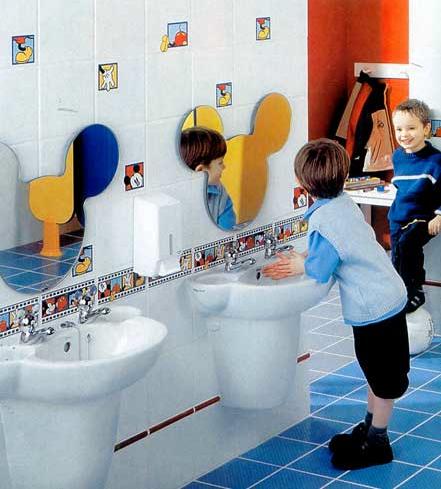 Con aire amatista decoraci n y dise o ba os infantiles Banos infantiles fotos