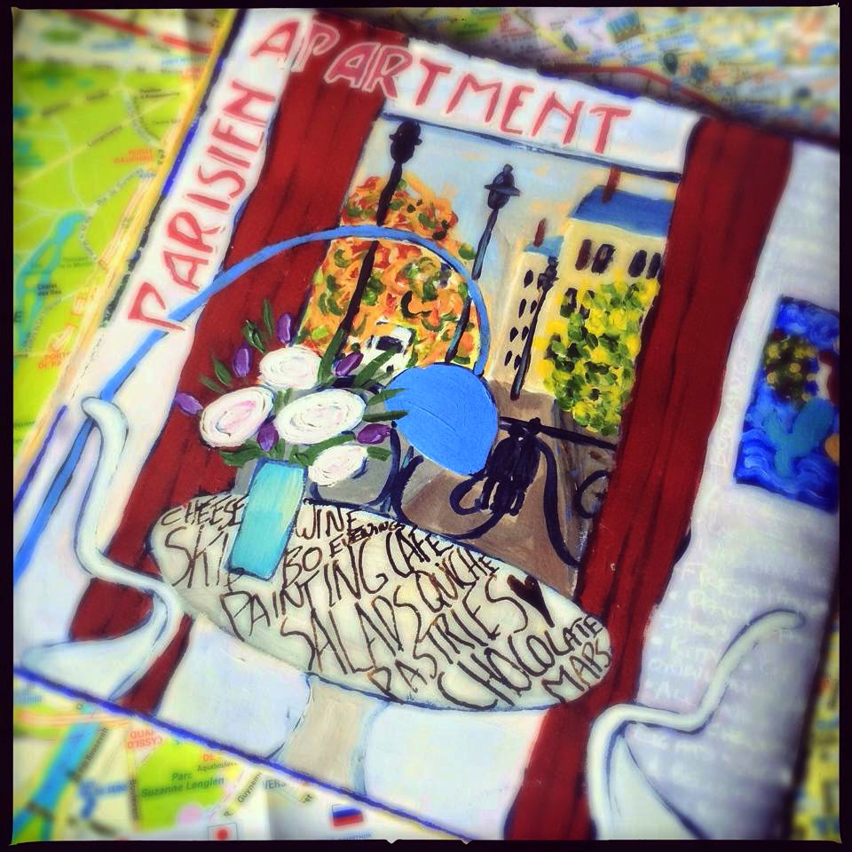 Galia Alena  Parisian travel journal