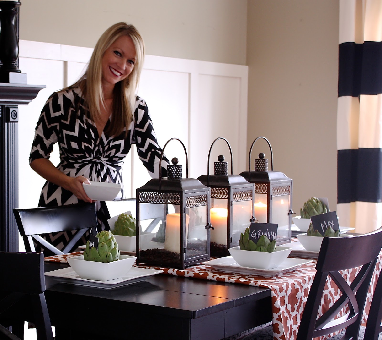 Living Room Table Centerpieces: The Yellow Cape Cod: November 2012