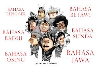 penggunaan bahasa daerah di indonesia