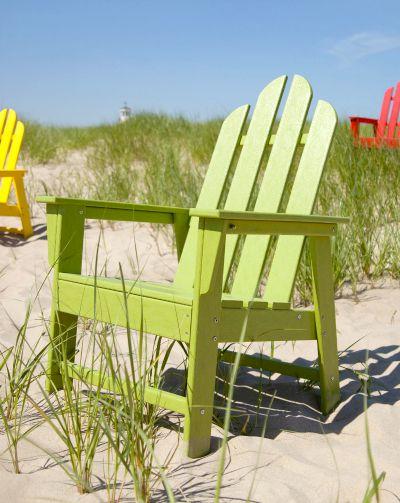 Colorful Polywood Adirondack Chairs