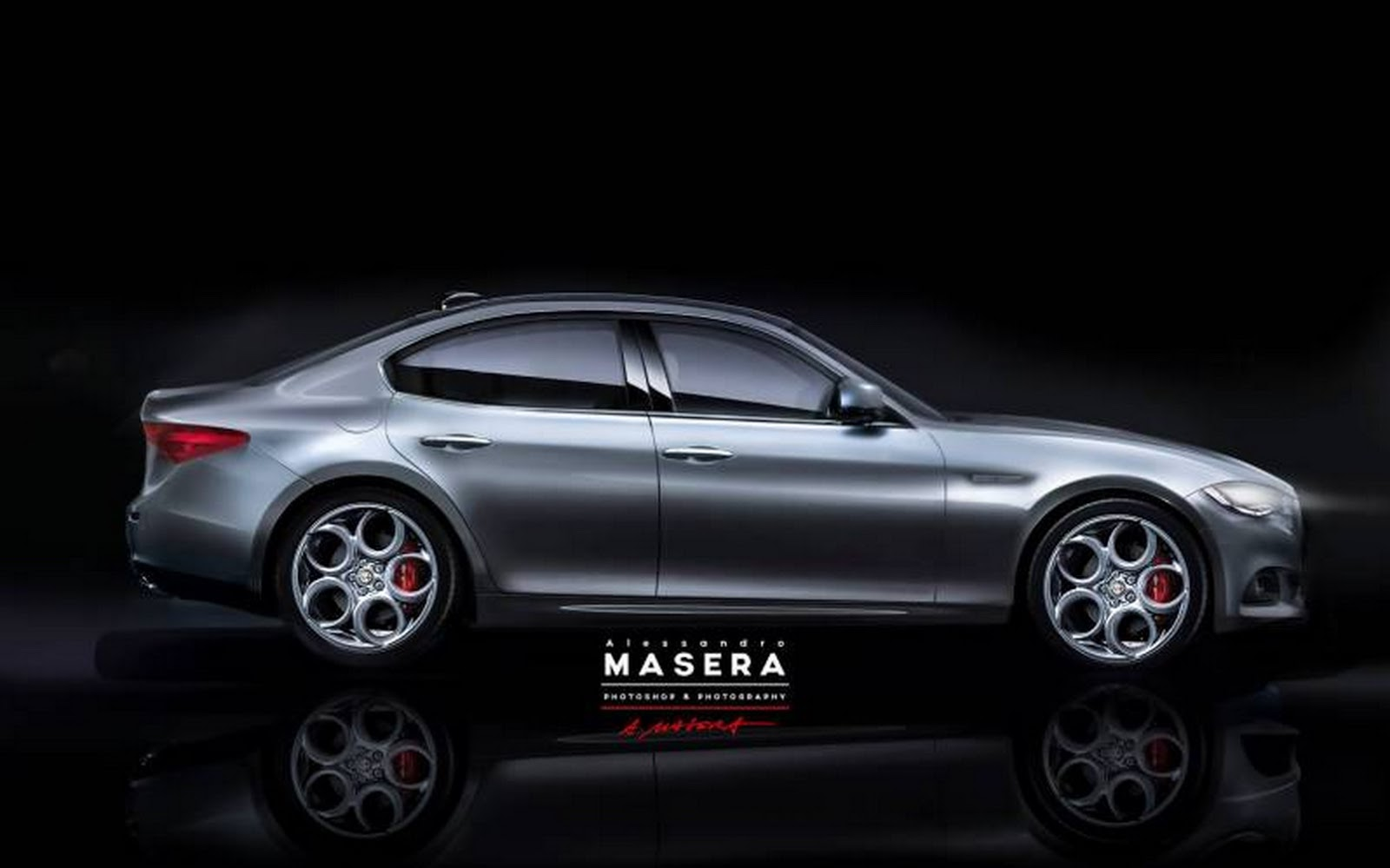 this is very likely alfa romeo 39 s new giulia sports sedan. Black Bedroom Furniture Sets. Home Design Ideas