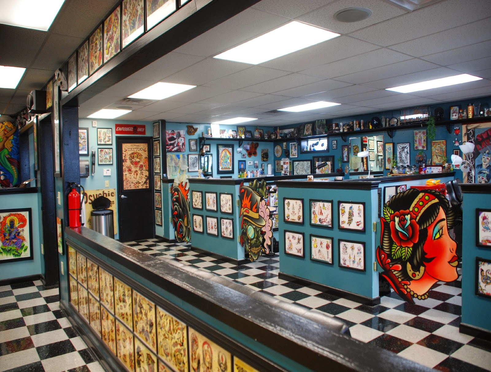Tattoo studio tattoo designs for Tattoo shops roanoke va
