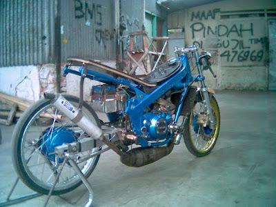 Motor Modif  Kawasaki Ninja Drag Bikes Pictures