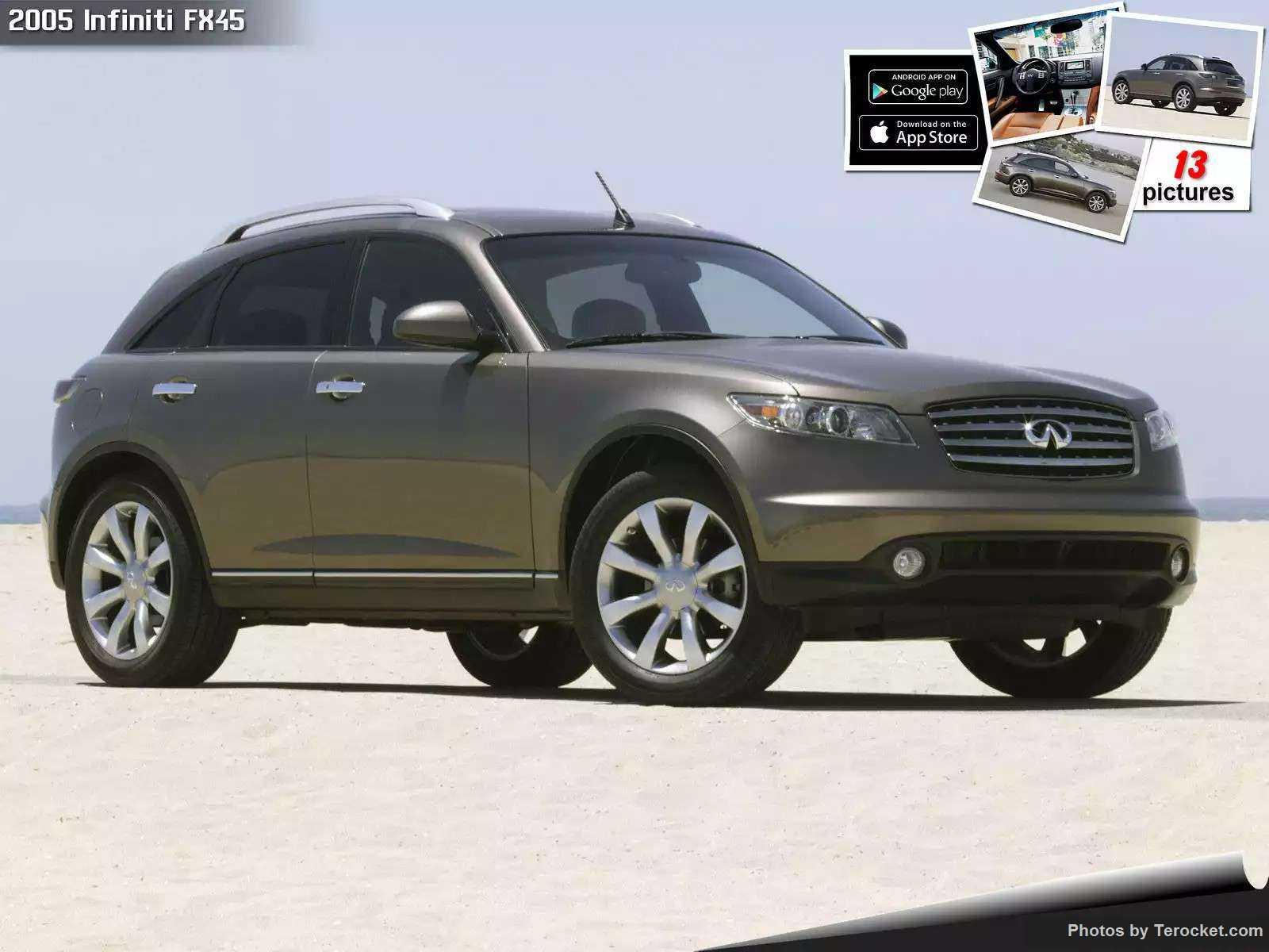 Hình ảnh xe ô tô Infiniti FX45 2005 & nội ngoại thất
