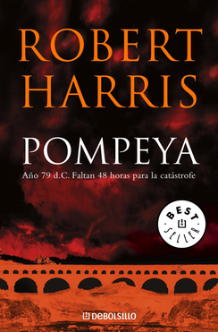 un baul con libros pompeya robert harris