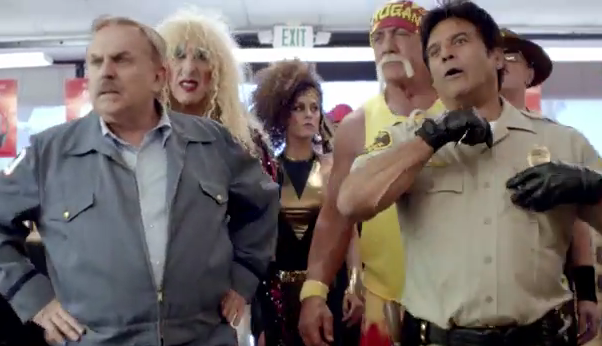 Behind The Scenes of Radio Shack's '80s Superbowl Commercial