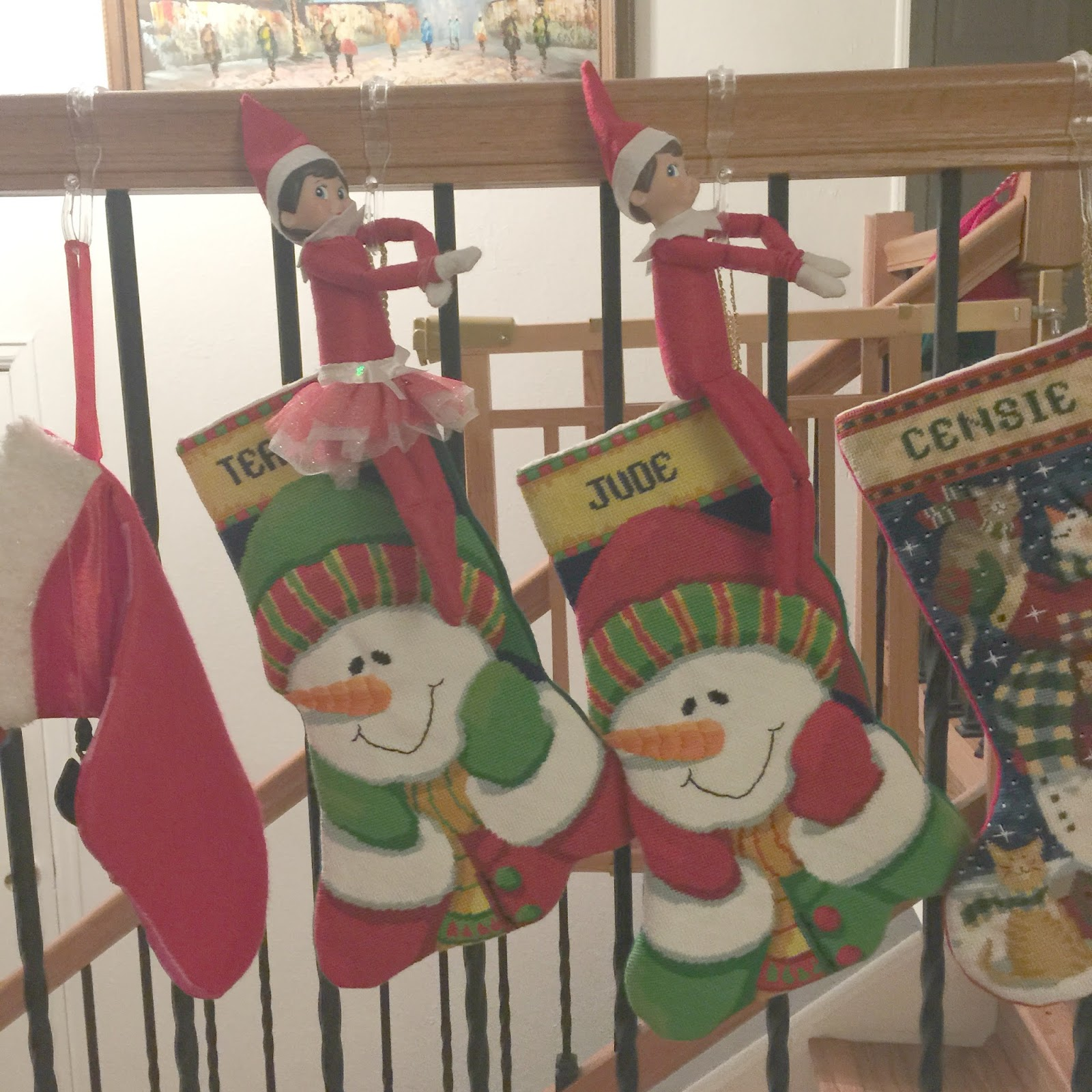 elf on the shelf ideas for two building our story