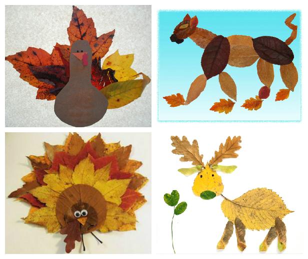 Осенние поделки в детский сад своими руками - топиарии из