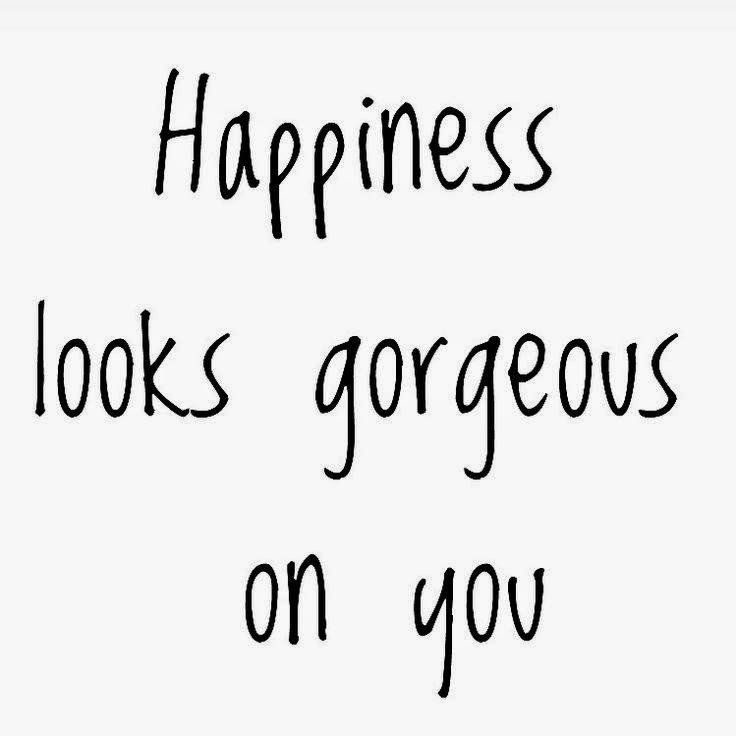 Щастието ти стои прекрасно