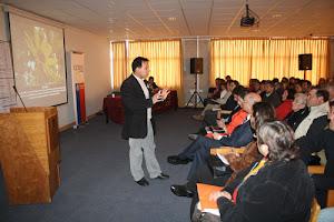 SEMINARIO DE DIVERSIFICACIÓN Y OFERTA APÍCOLA EN LA UNIVERSIDAD DEL PACÍFICO - CHILE