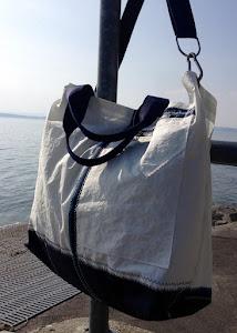 Große Strand/Bade/Sporttasche