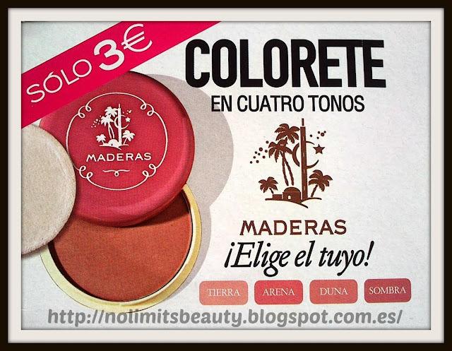 Regalo Colorete Maderas Tierra - Revista Glamour Enero 2014