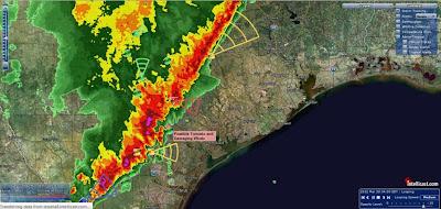 Sistema de tormentas EEUU, 20 de Marzo de 2012