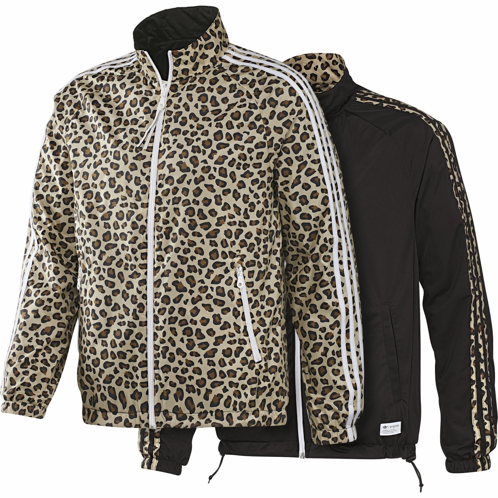 adidas leopardo chaqueta