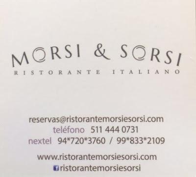 ristorante Morsi e Sorsi Lima Perù