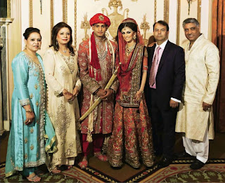 Beautiful Couple Of 2013 Amir Khan And Faryal Makhdoom All Wedding Pictures