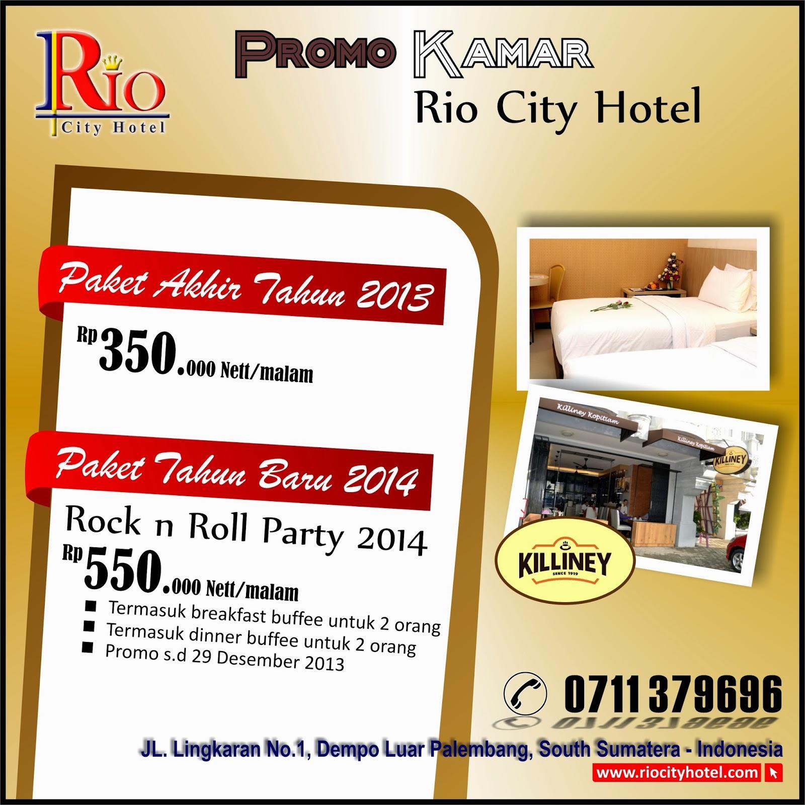 Hotel di palembang promo kamar di akhir tahun dan tahun for Dekor kamar hotel ulang tahun