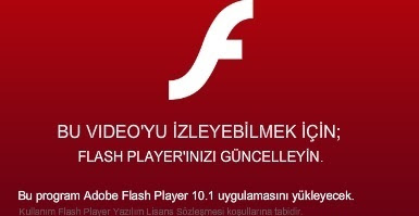 Adobe Flash Player.exe Virüsü
