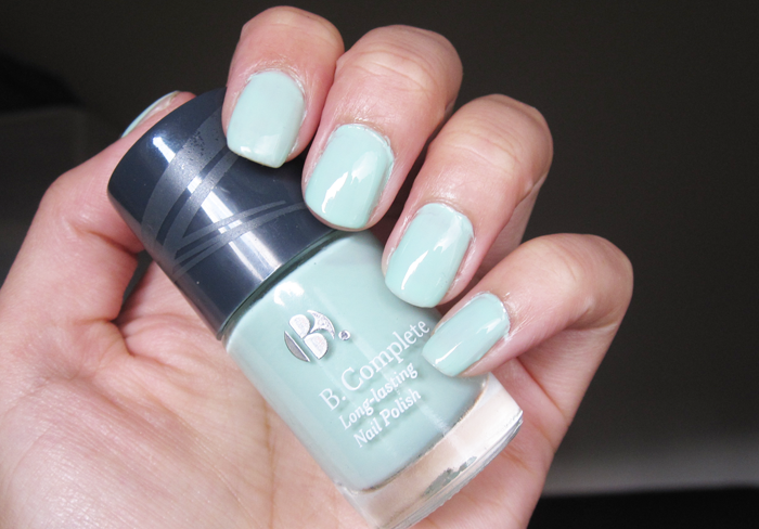 A picture of NOTD: B. Complete - Sea Foam swatch