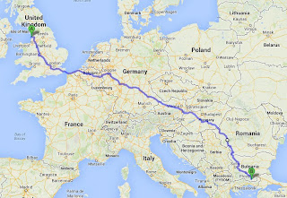 The route via Romania