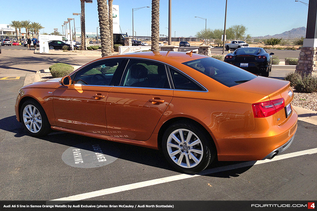 Audi+A6+exclusive+Samoa+Orange+Metallic+