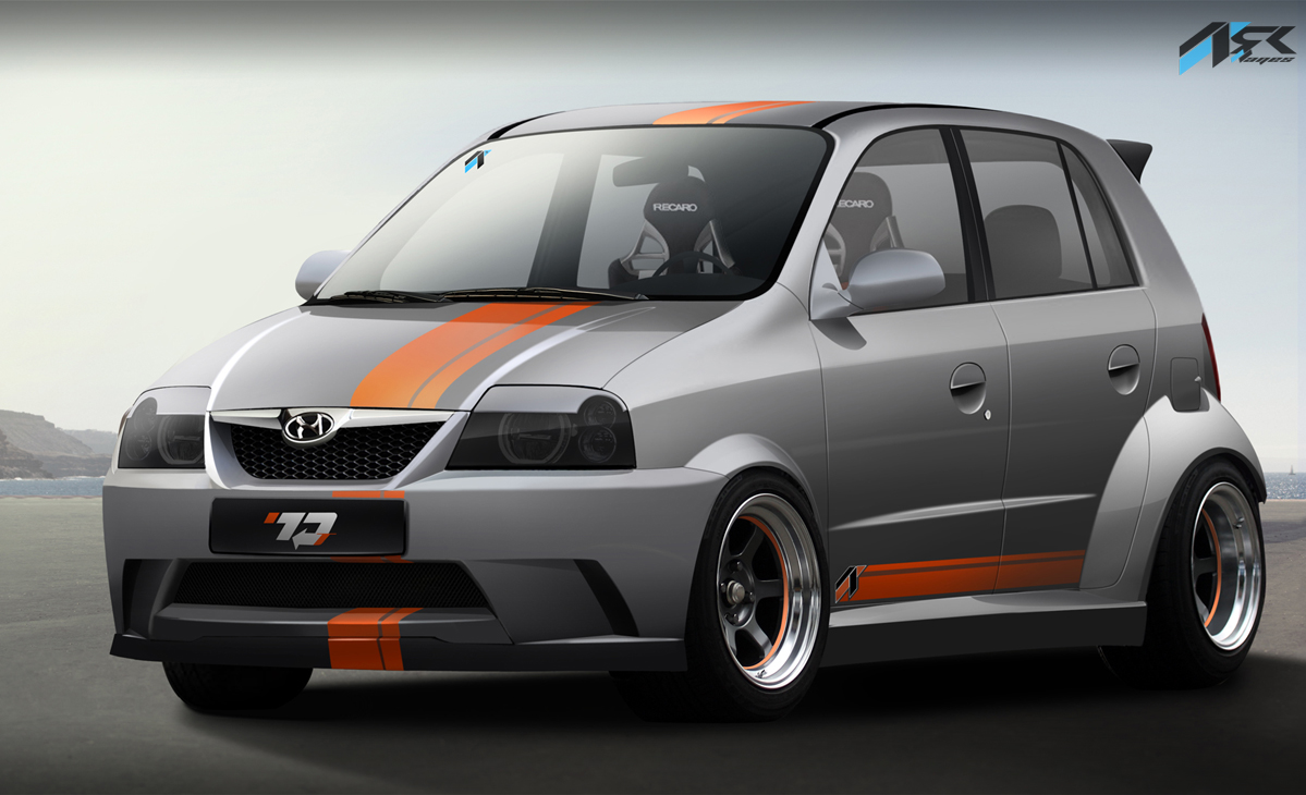 Virtual Tuning Studio By Ark Llanes Hyundai Atos
