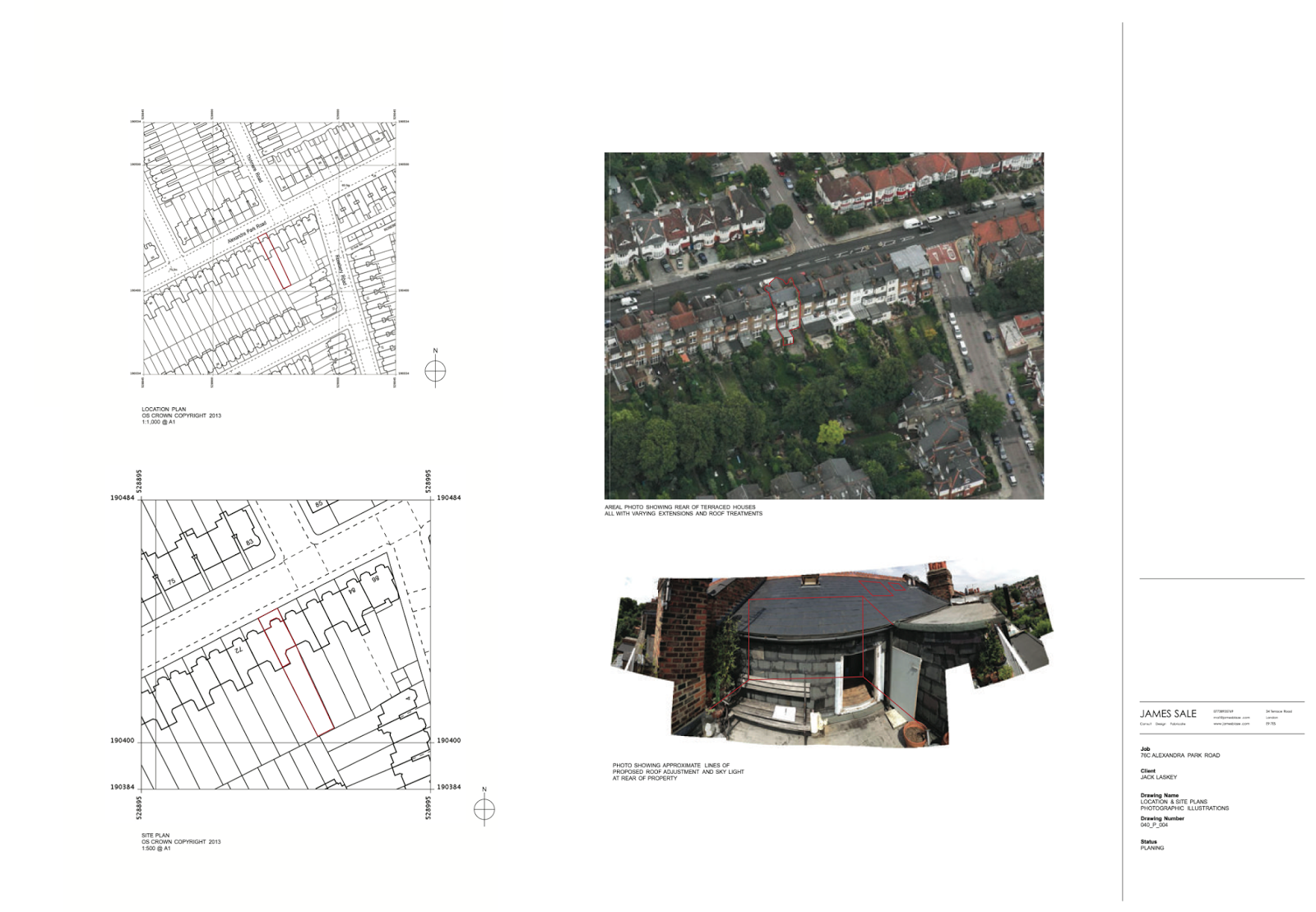 successful planning application advice for roof line ideas for alterations to the the roof line in this edwardian flat providing drawings as well as advice throughout the planning application process